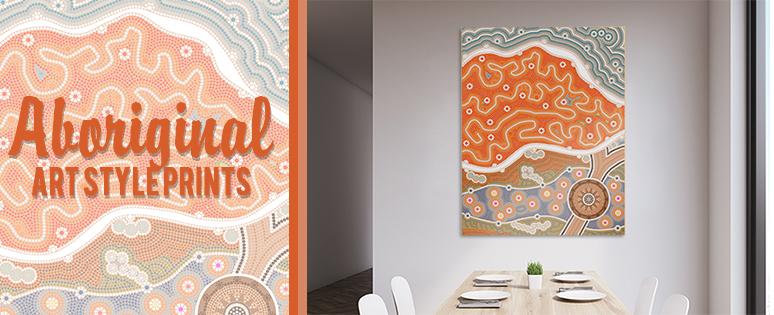 Aboriginal Wall Art Prints In Urban Designs