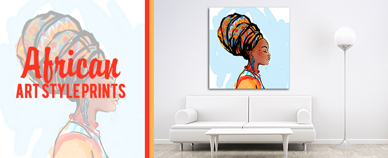 African Wall Art Canvas For Home Essentials