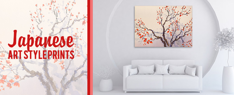 Japanese Art Style Prints For Home Interiors