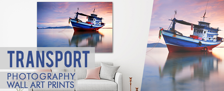 Transportation Wall Art Prints For House Interior