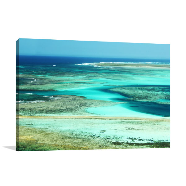 Abrolhos Perth Art Print Ocean Artwork