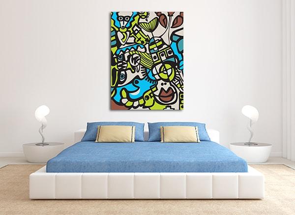 Abstract Mosaic Art Prints