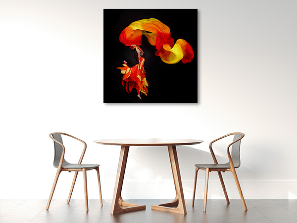 Acrobat Dancing Canvas Prints