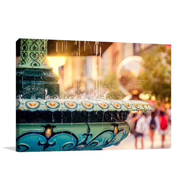 Adelaide Arcade Fountain Canvas Prints