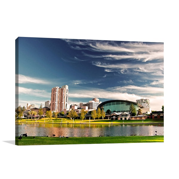 Adelaide City Canvas Art Print
