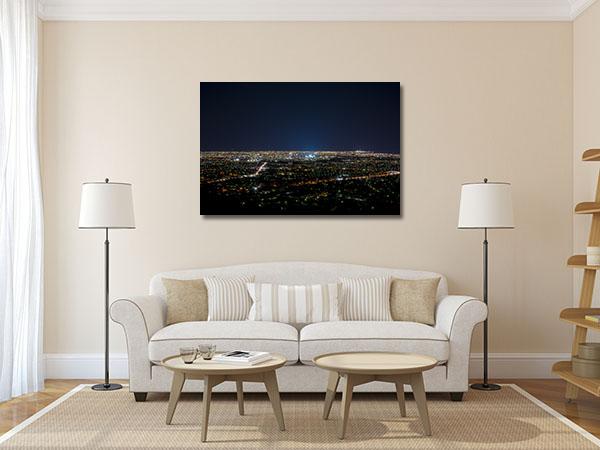 Adelaide City Lights Prints Canvas