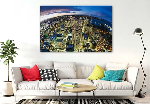 Aerial CBD Sydney Print Artwork