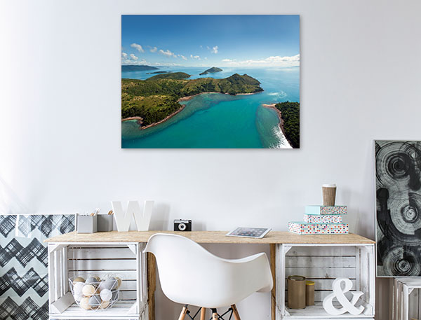 Aerial View Whitsunday Art Print Nature Photo Wall Arts