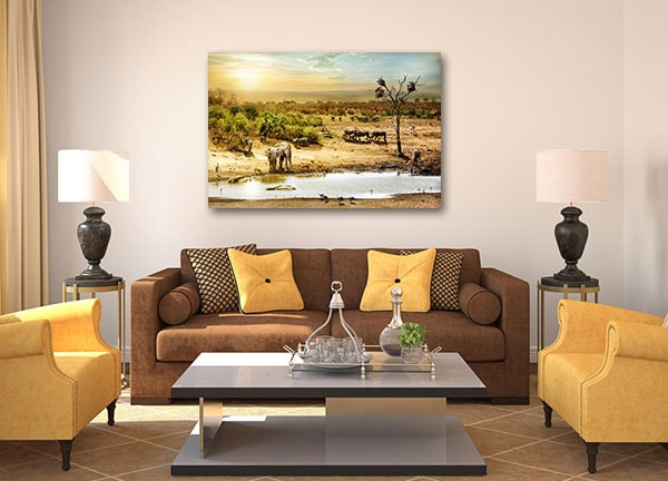 African Safari Canvas Art Print Canvas Art