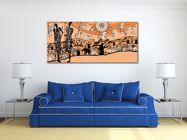 African Tribe Canvas Prints