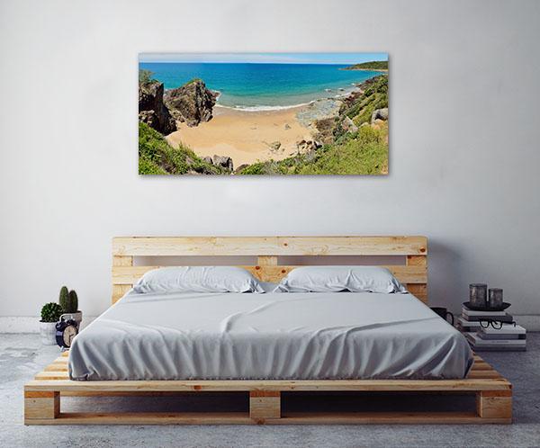 Agnes Water Art Print Worrkman Beach View Canvas Photo Print