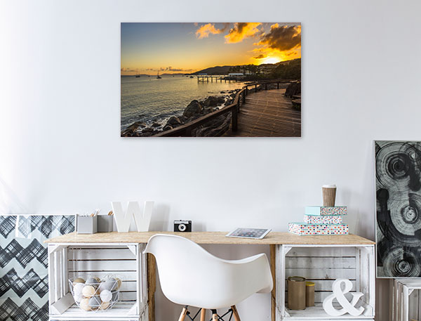 Airlie Beach Art Print Coral Sea Sunrise Canvas Art Prints