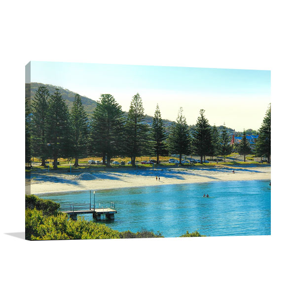 Albany Ocean Canvas Art