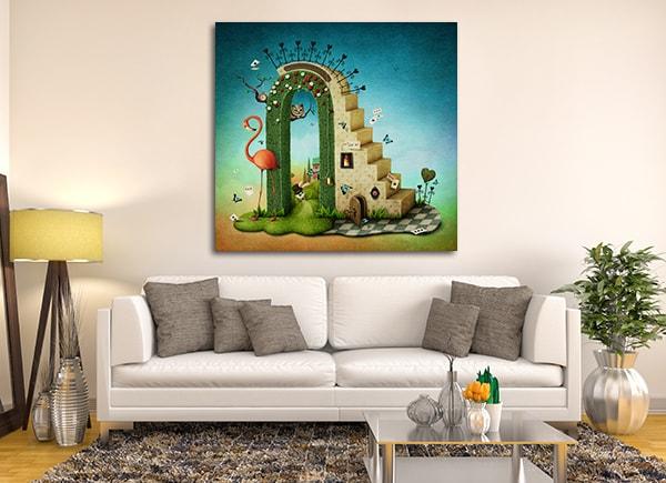 Alice in Wonderland Canvas Artwork