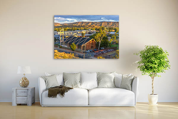 Alice Springs Central Church Print Art Canvas