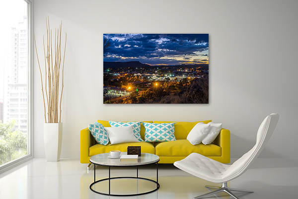 Alice Springs Lookout Canvas Photo Print