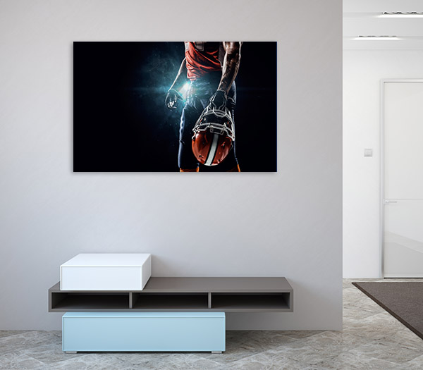 American Football Canvas Art Prints