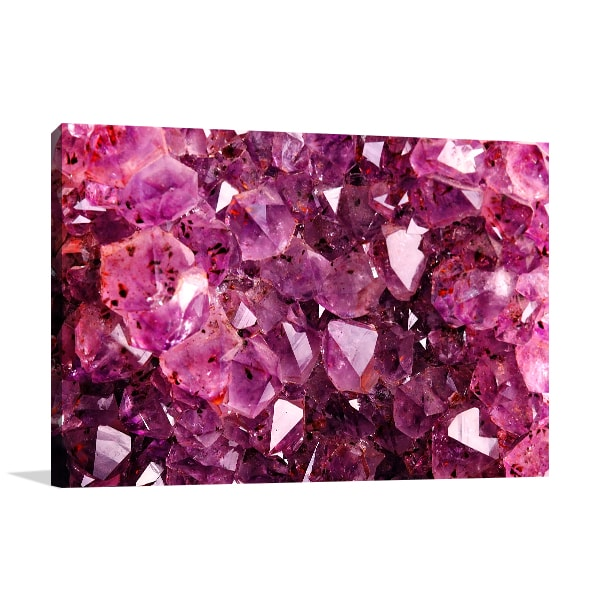 Amethyst Wall Art Print Prints Canvas