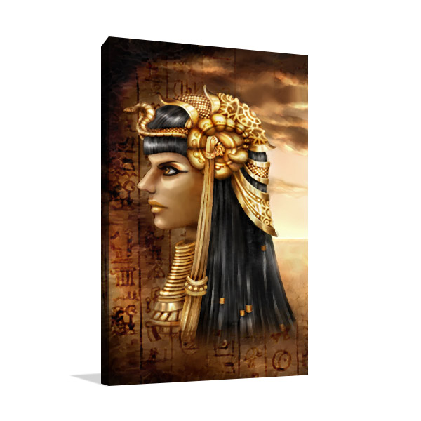Ancient Fantasy Egyptian Queen Art Prints