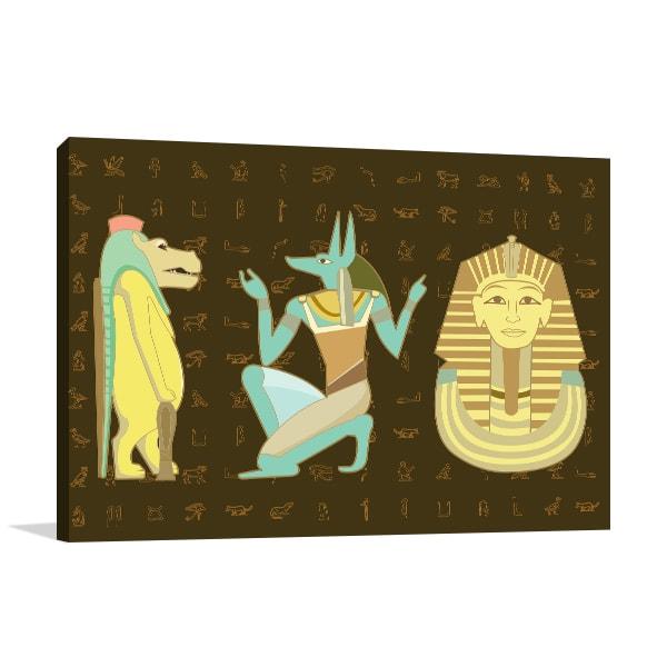 Ancient Graphics Art Prints
