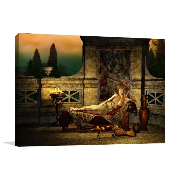 Ancient Roman Canvas Prints