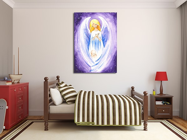 Angel of Hope Canvas Prints on the Wall