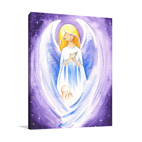 Angel of Hope Canvas Prints