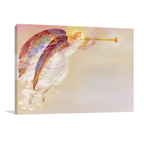 Angel With Wings Canvas Prints