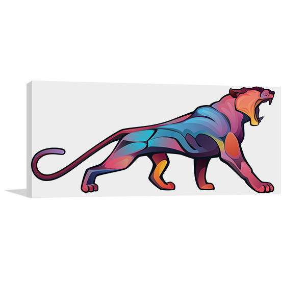 Angry Puma Artwork