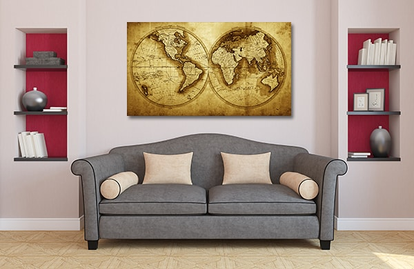 Antique Journey Prints Canvas