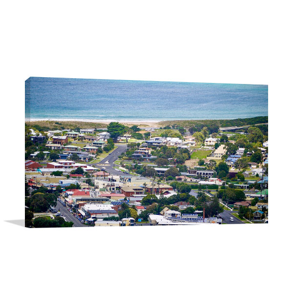 Apollo Bay Town Print Wall Art