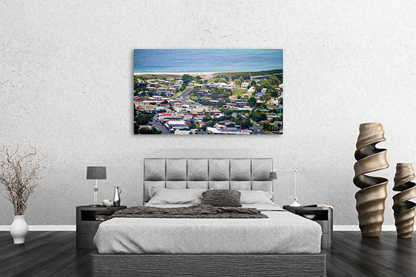 Apollo Bay Town Canvas Art