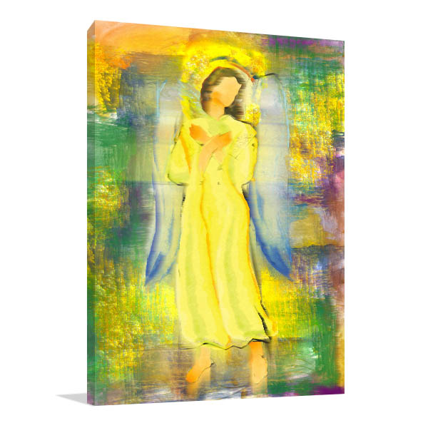Archangel Hands Crossed Wall Art