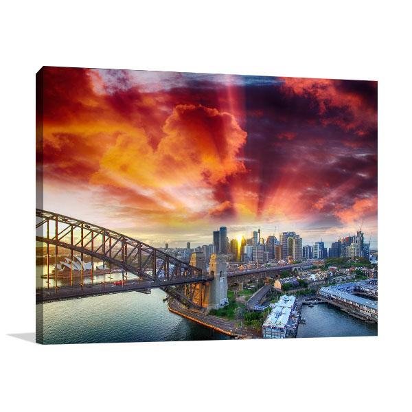 Architecture Sydney Canvas Art Prints