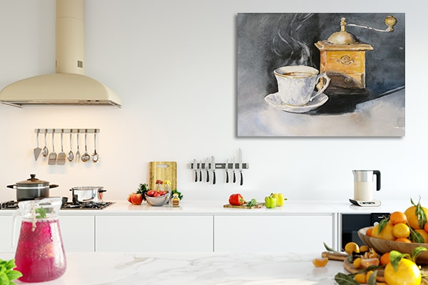Aromatic Coffee Canvas Art