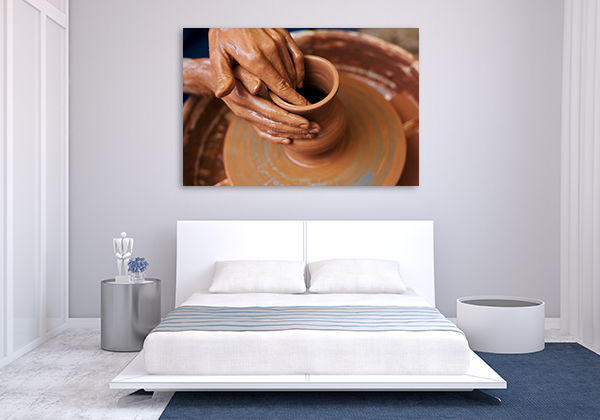 Art Of Pottery Canvas Art Prints