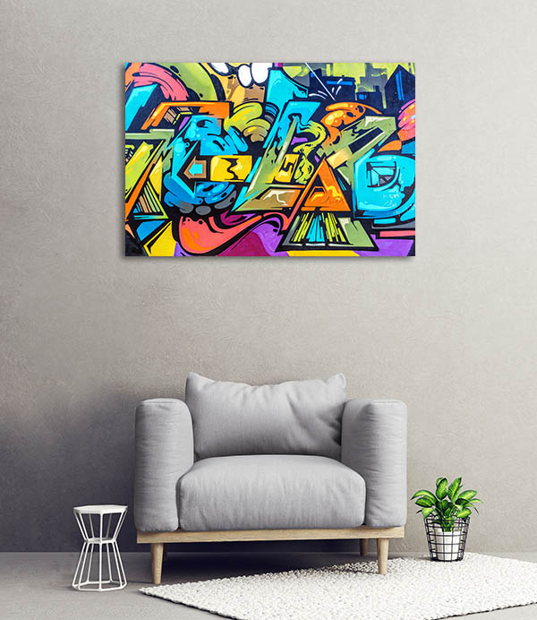 Art Under Ground Canvas Art Prints