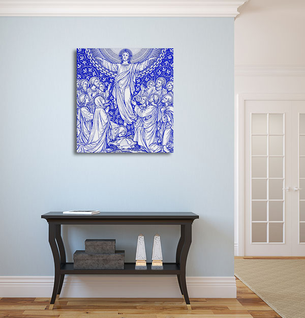 Ascension Day in Blue Artwork