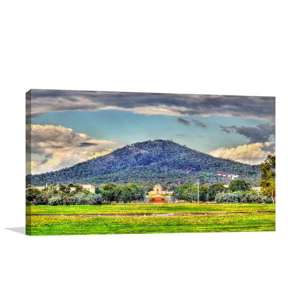 Astonishing View Canberra Wall Art