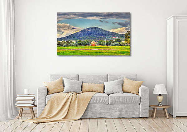 Astonishing View Canberra Canvas Prints