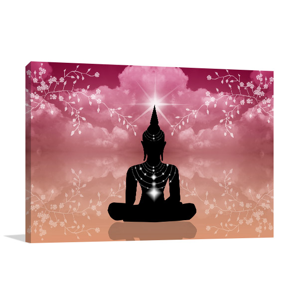 Atmosphere Buddha Prints Canvas