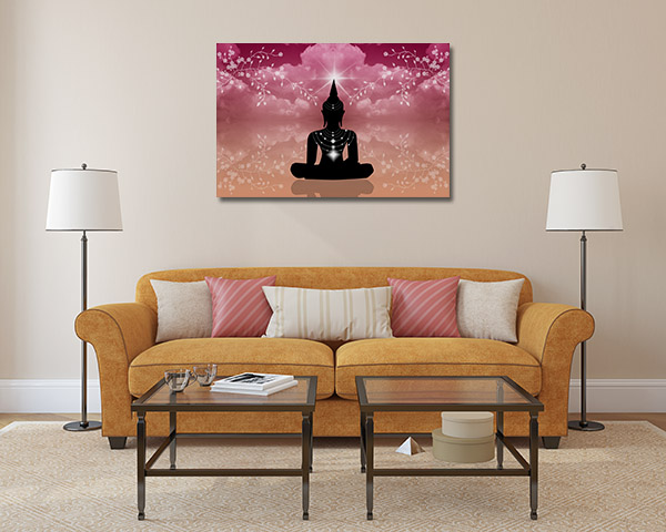 Atmosphere Buddha Canvas Prints