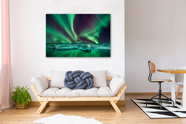 Aurora Lights Canvas Prints