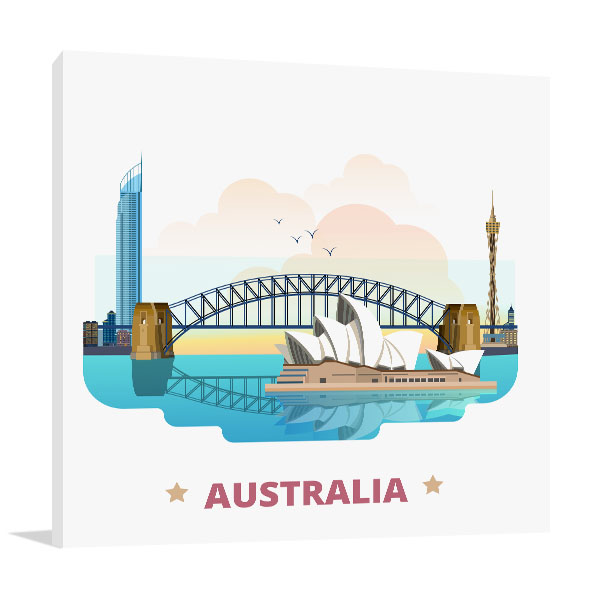 Australia Country Canvas Art