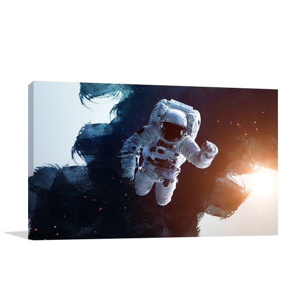 Austronaut Canvas Art