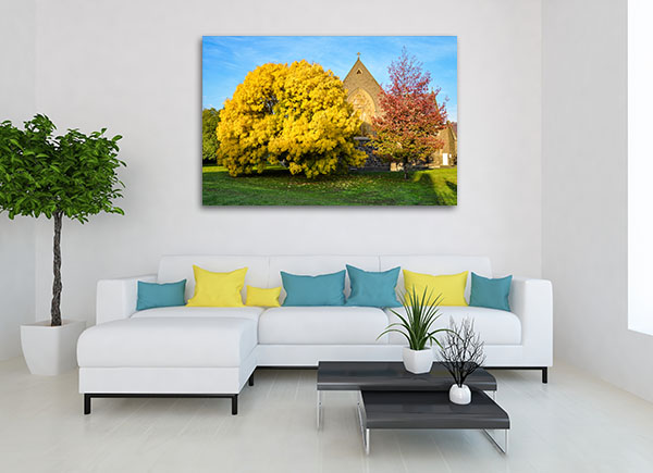 Autumn Colours in Ballarat Prints Canvas