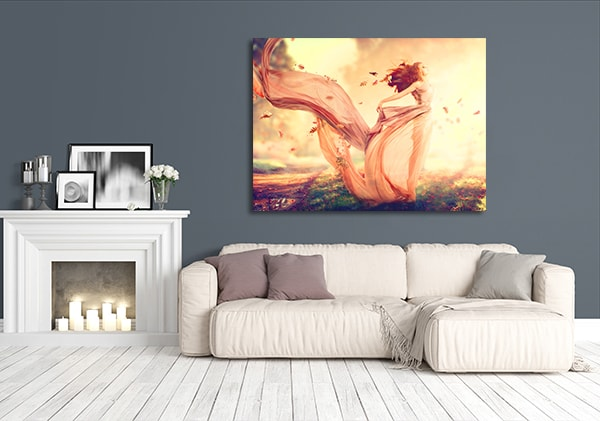 Autumn Fairy Print Artwork