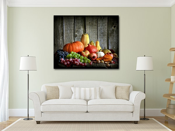 Autumn Harvest Art Prints on the Wall