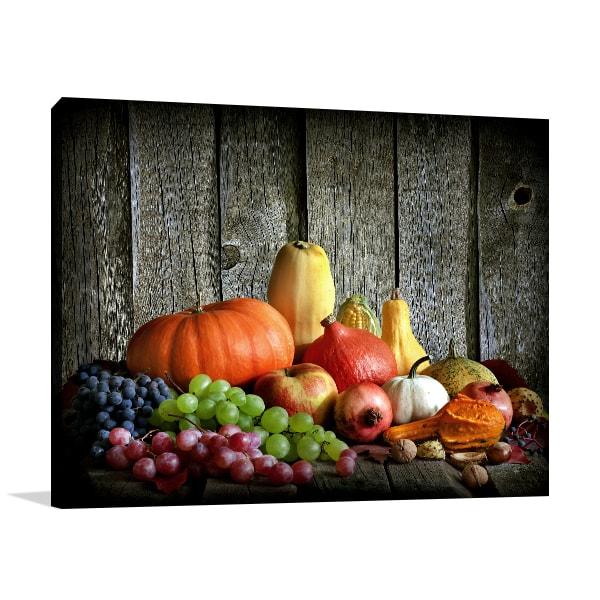 Autumn Harvest Print Artwork