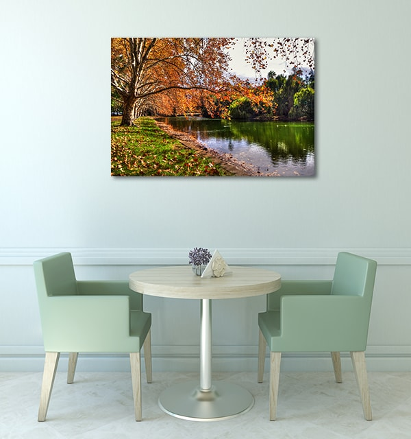 Autumn Hyde Park Perth Canvas Prints